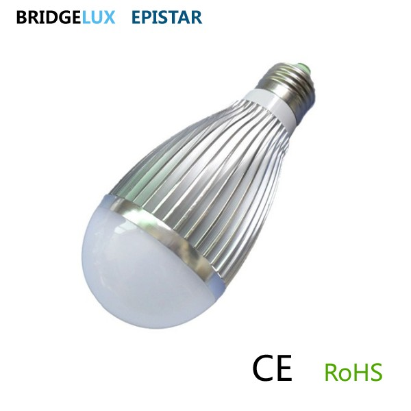 6w 7.5w 8w high power led bulb light