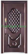 China manufacturer Modern design security steel doors residential