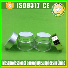 2 oz. glass jars good quality frosted jar with gold lid for facal mask cosmetic 60g 50g glass jars