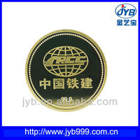 24k gold plated tungsten coin