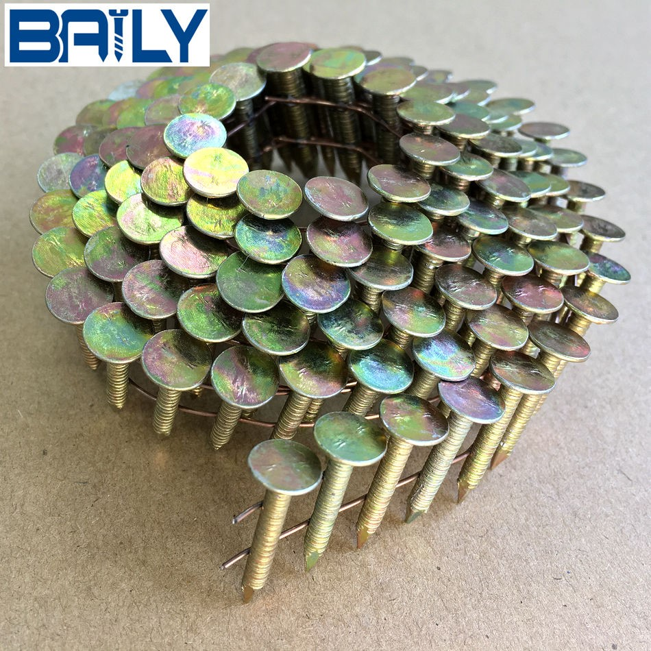Factory directly sell Roofing coil Nails.excellent quality .China framing nails with high qualtiy