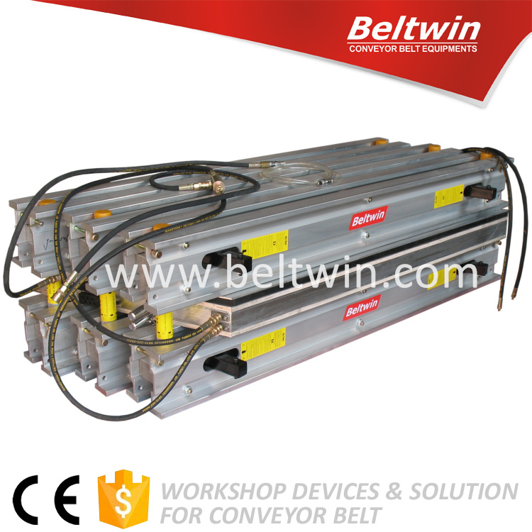 Beltwin 2016 new plate vulcanizing machine hot press for rubber conveyor