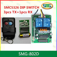 433Mhz Dip switch 5326 remote control for gate/barrier /door