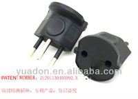 2013 top quality Germany to Swiss travel plug adapter