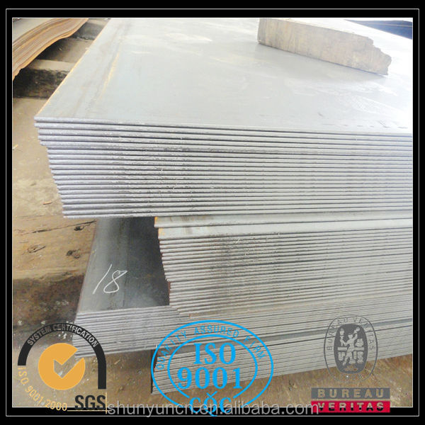Coated printed SS400 Mild steel plate