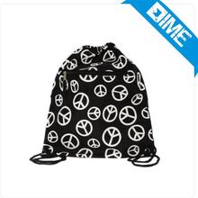 13Inch*15Inch Polyster Drawstring Bag With Cheap Logo Printing Fee