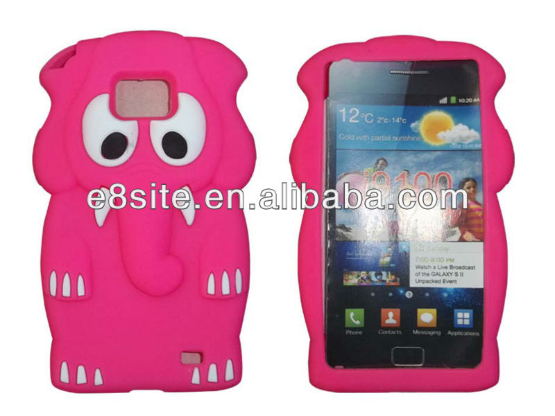 3D Animal Silico Case For SamSung i9100 Galaxy S2