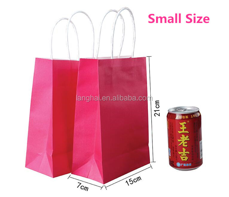 New arrival high quality eco-friend wholesale factory craft bags / china manufacturing industry paper packaging bags