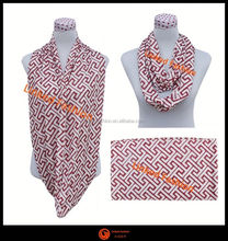 2014 fashion Aztec nursing scarf Elegent soft nursing infinity scarf with chevron pattern