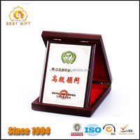 Custom Logo High Quality Wooden Shield Plaques