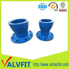 cast iron pipe fittings socket flange end