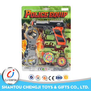 Wholesale small games play equipment toy police kit for children