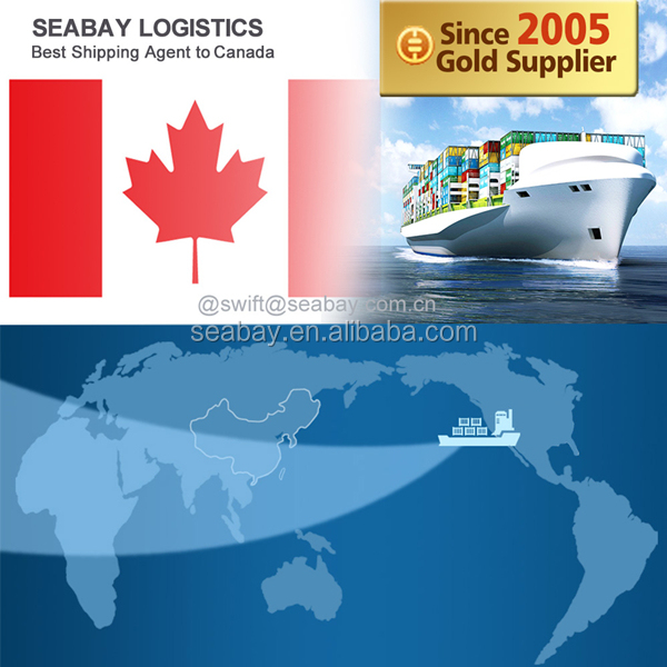 China Ocean Shipping Freight Forwarding Service to Canada