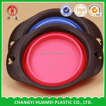 Customized plastic animal shaped bowls