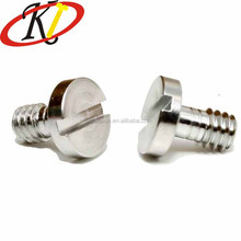 Chinese Fastener Manufacture M4 Big Slotted Head Half Thread Decorative Screws
