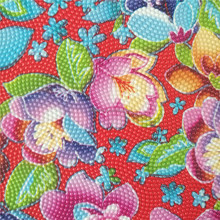 Super Quality Flower Printed Synthetic leather,artificial leather for Bags,Package