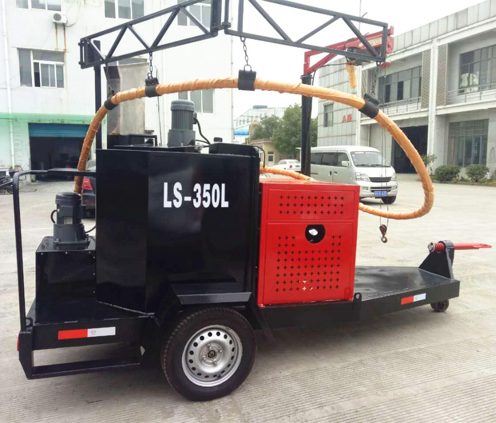 road crack sealing machine concrete and asphalt road machinery with honda generator