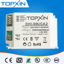 30W to 50W 900mA/1050mA/1200mA Contant Current Multiple/Optional Output LED Driver