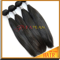 Wholesale direct buy from China beautiful soprano human hair virgin indian raw hair