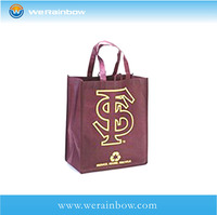 promotional foldable nonwoven shopping bag