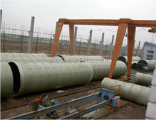 Fiberglass reinforced ring GRP FRP sewage pipes