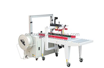 Automatic Carton Sealing And Strapping Machine