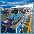 SJSZ55 PVC material line plastic profiles extruding line making machine from Suzhou