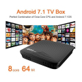 best selling products mini pc M8S Pro amlogic s912 android 7.0 full english movie hd video download android tv box 4k tv box