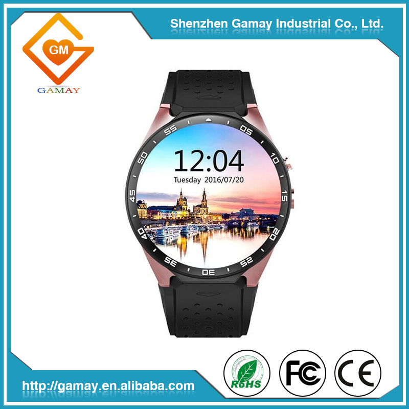 2017 High Quality Smart Watch Phone KW88 3G Android Smart Watch