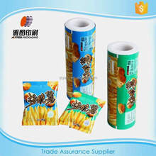 mutlilayer flexible food packaging plastic roll film