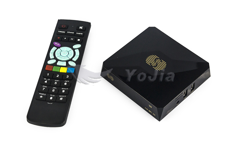 S-V6 Digital Satellite Receiver with2USB port S V6 Support Xtream IPTV NOVA Wheel TV WEB TV Youtube Wifi Biss Key CCCAMD NEWCAMD