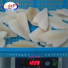 Skinless Seafood Frozen Yellow Fin Sole Fish Fillet
