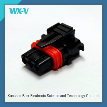 3 Pin Way Male Female Auto Wire Electrical Connector With Terminals and Seals