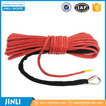"JINLI cir 5/8"" 45' Synthetic Winch Line Red for Whole Set"