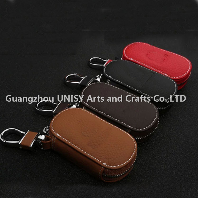 High quality fashionable leather car key cover for VW/Ford/NISSAN/Aud/|Honda/ car remote key case