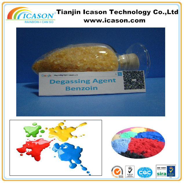 POST CHEMICALS BENZOIN FOR POWDER COATING ON CAST IRON/ALUMINUM