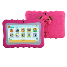 Best selling 7 inch silicon case stand android kids tablet pc for Children