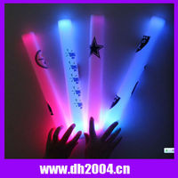 Led Flashing Foam stick for famous Star concert foam glow stick