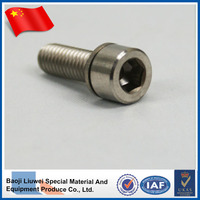 Hex socket head cap screws M6 titanium bolt din912