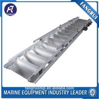 Hot dip galvanized steel ship mooring equipment gangway ladder