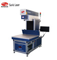 Coherent 250W co2 laser marking machine for wood rubber acrylic leather paper jeans engraving