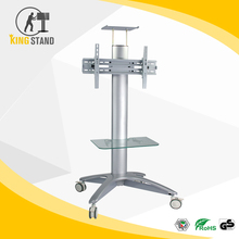 Heavy-duty TV Cart / TV Trolley / LCD TV Table With Shelf