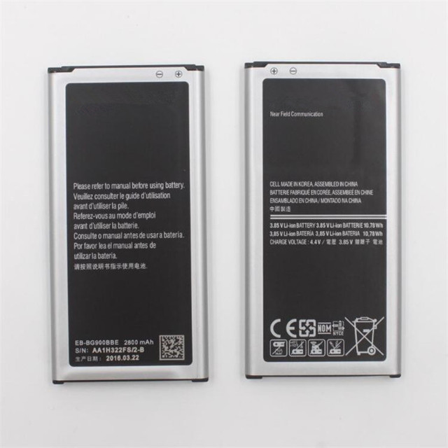 Bulk Buy EB-BG900BBE Rechargeable lithium ion battery for Samsung Galaxy S5 I9600 From China