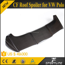 JC Sportline O Style Carbon Fiber Roof Spoiler for VW POLO 6 2011 UP
