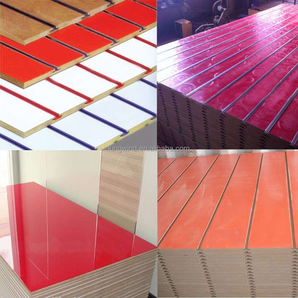 12mm Slot MDF, slatted MDF, slat MDF
