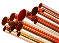 solid copper tube