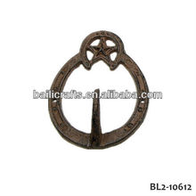 cast iron decorative hook
