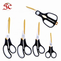New Product 2019 Amazon Hot Selling Professional Plastic 5 set Titanium Scissors