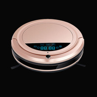 home intelligent high-end multifunctional good robot vacuum cleaner with water tank