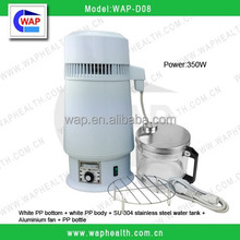WAP-health portable stainless steel household water distiller for alcohol